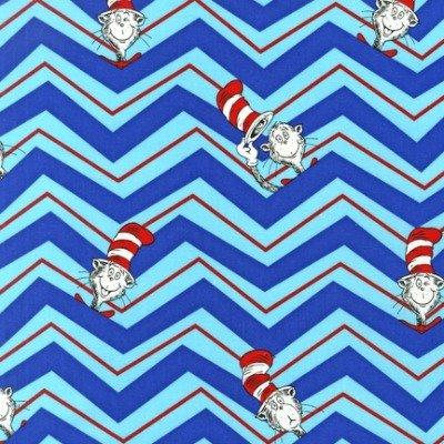 Robrt Kaufman 13979-203 Dr. Seuss The Cat in the Hat 2: Chevron Celebration
