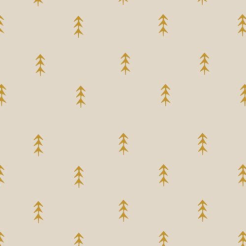 Art Gallery Fabrics, Autumn Vibes,ATV-87202 Simple Defoliage Gold