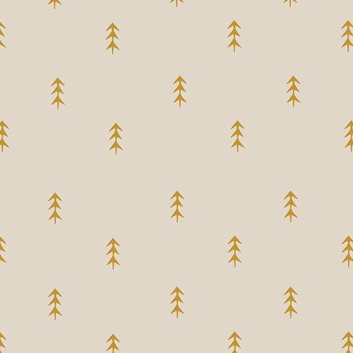 Art Gallery Fabrics, Autumn Vibes,ATV-87202 Simple Defoliage Gold
