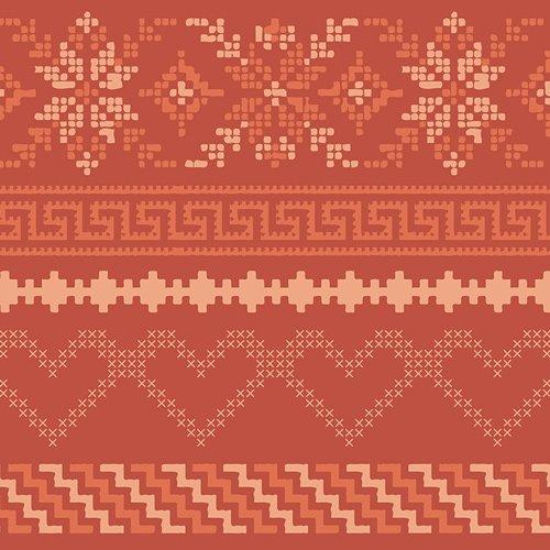 Art Gallery Fabrics, Autumn Vibes, ATV-87210 Fall in Love Warm