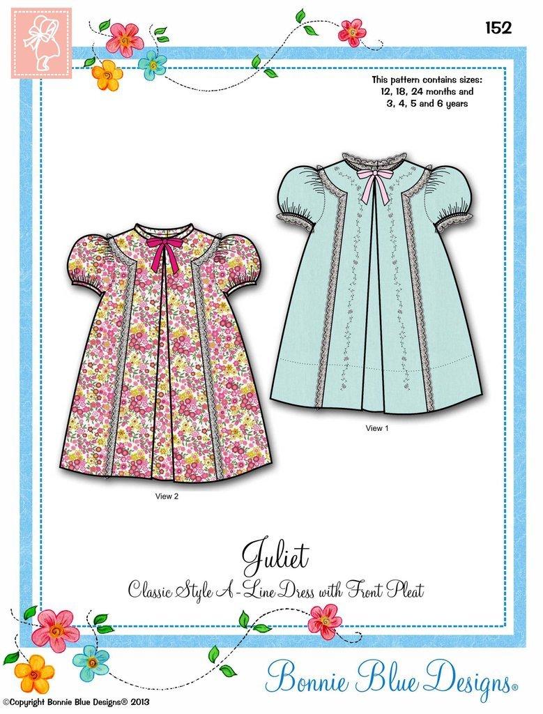 Bonnie Blue Designs  Juliet  #152