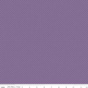 Riley Blake Kisses, C210-purple