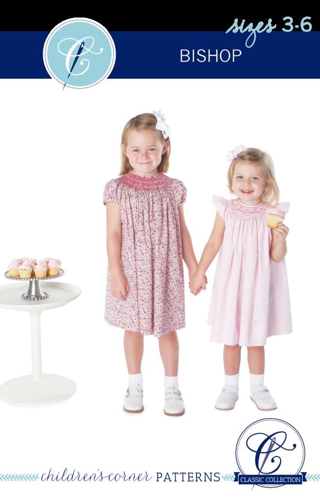 Bishop #3s,Children's Corner,Smocked Bishop,sizes NB-24months