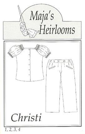 Maja's Heirlooms-Christi size 5-8