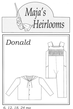 Maja's Heirlooms-Donald 3-6