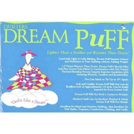 Quilters Dream Puff White Double 96in x 93in