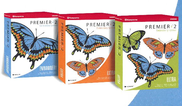 Premier +2  Embroidery Software