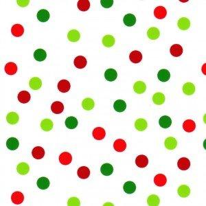 Fabric Finders Christmas Polka Dot