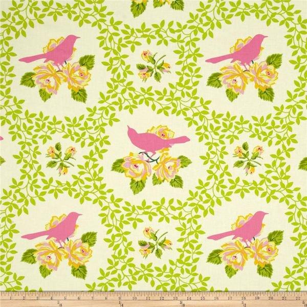 Q - Heather Bailey - Up Parasol - Mocking Bird - Pink