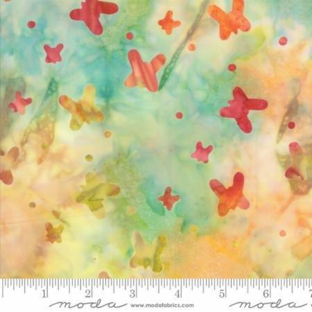 Q - Moda - Sunday Drive Batiks - Sunrise Butterfly