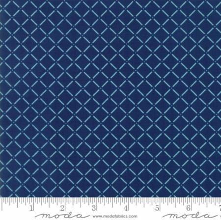 Q - Moda - Sunday Drive Prints - True Blue