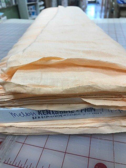 Spechler Vogel Handkerchief Linen,Kentshire, Melon