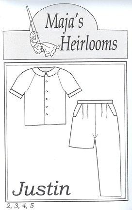 Maja's Heirlooms  Justin size 5-8