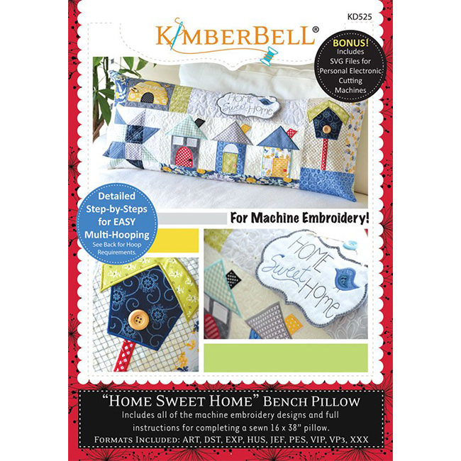 Kimberbell Home Sweet Home Machine embridery CD
