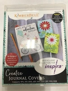 Kimberbell Creative Journal Covers Embroidery