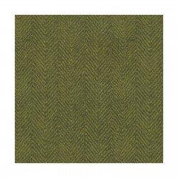 Q - Green Herringbone Flannel