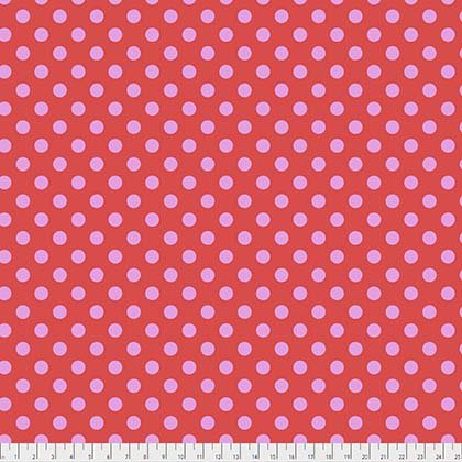Q - Tula Pink - ALL STARS - Pom Poms - Poppy