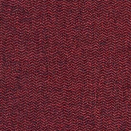 Shetland Flannel REDWOOD 100% COTTON