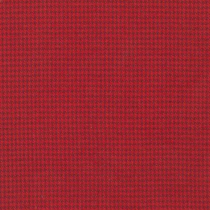 Shetland Flannel Red, SRKF-15617-3,Robert Kaufman