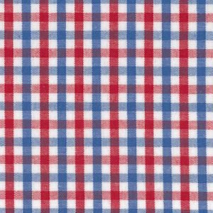 Fabric Finders T-13,red white and blue tricheck