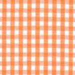 Fabric Finders 1/8 Large Gingham - Tangerine