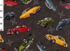 Q - Blank Quilting Co - Route 66 Cars