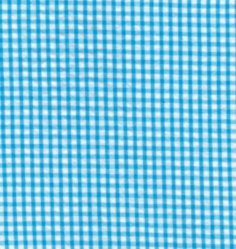 Fabric Finders 1/16 Gingham Turquoise