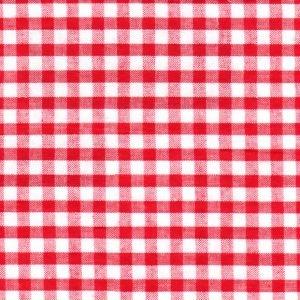 Fabric Finders Seersucker Red check WS/W14 ,60wide  100% cotton