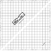 Bloc Loc HST 9.5 Acrylic Ruler