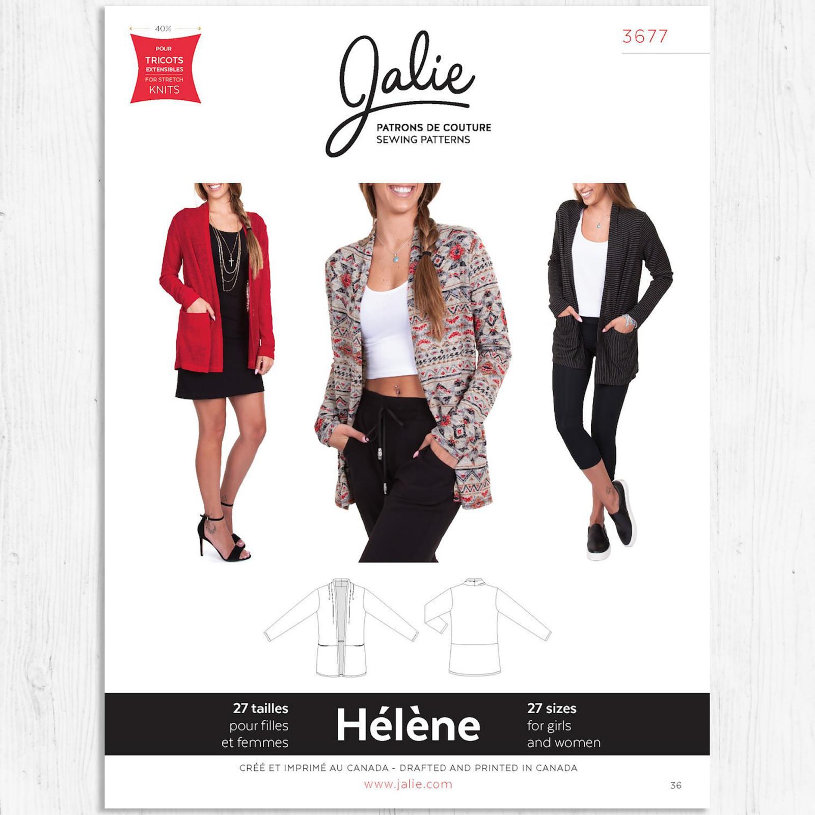 Jalie Patterns - Helene Shawl