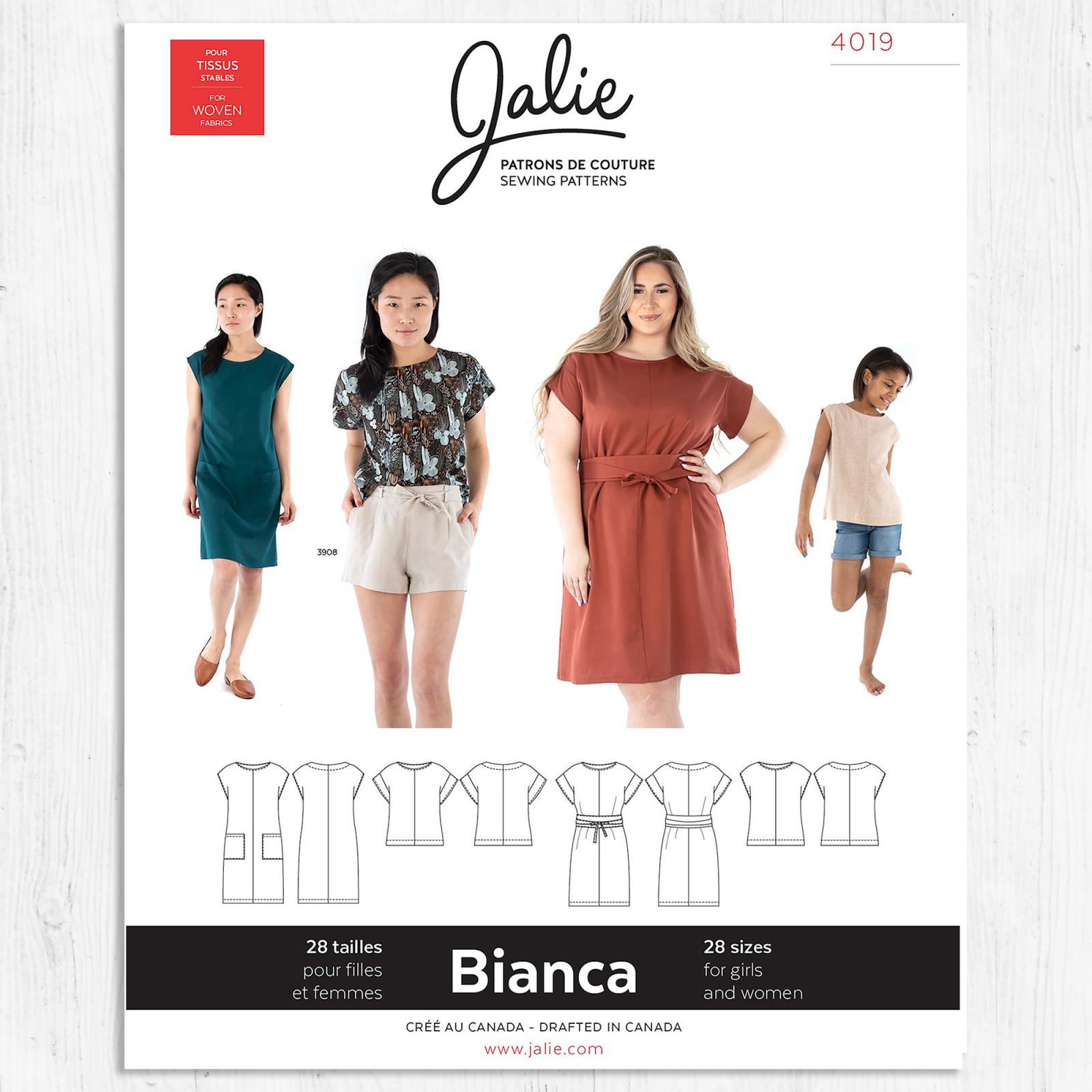 Jalie Patterns - Bianca Dress and Top