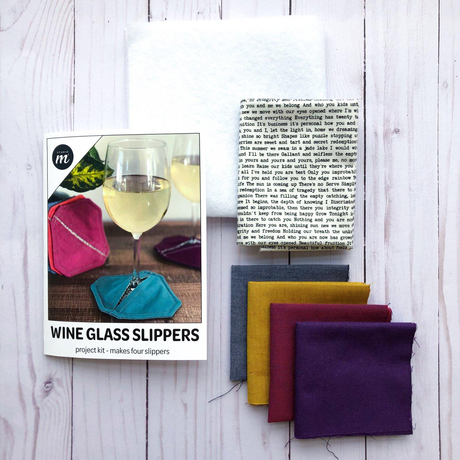 Wine Glass Slipper Kit - Syrah