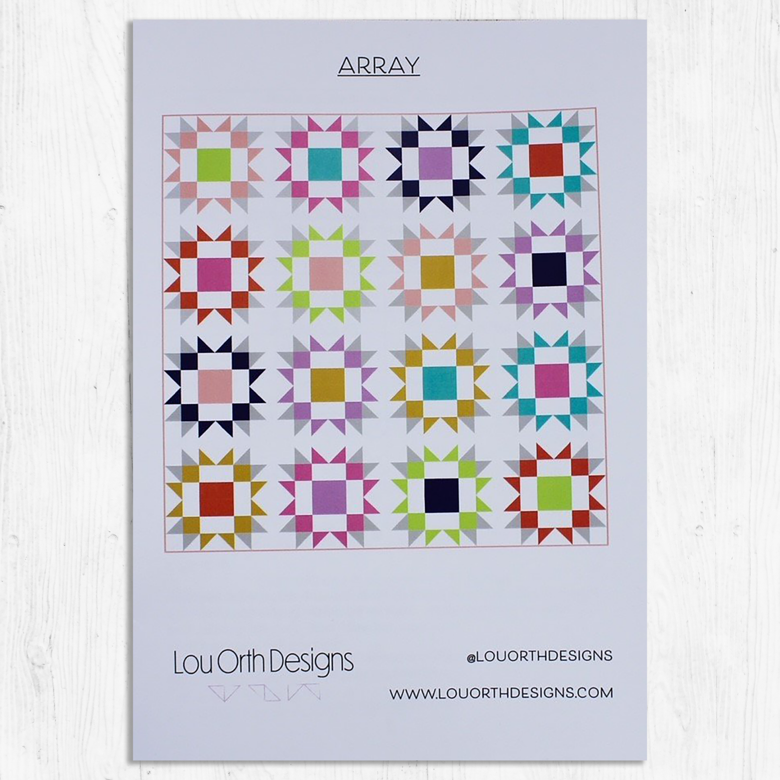 Lou Orth Designs - Array Quilt Pattern