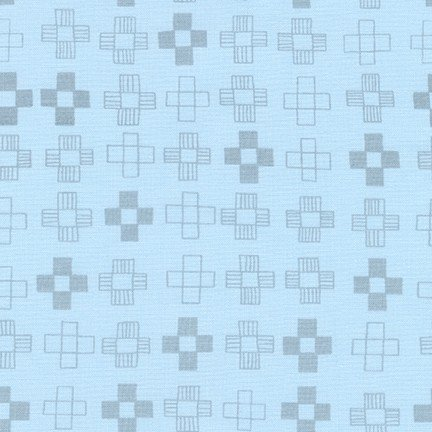 Remnant - 7/8 yd - Breeze - Blueberry Park Collection by Robert Kaufman
