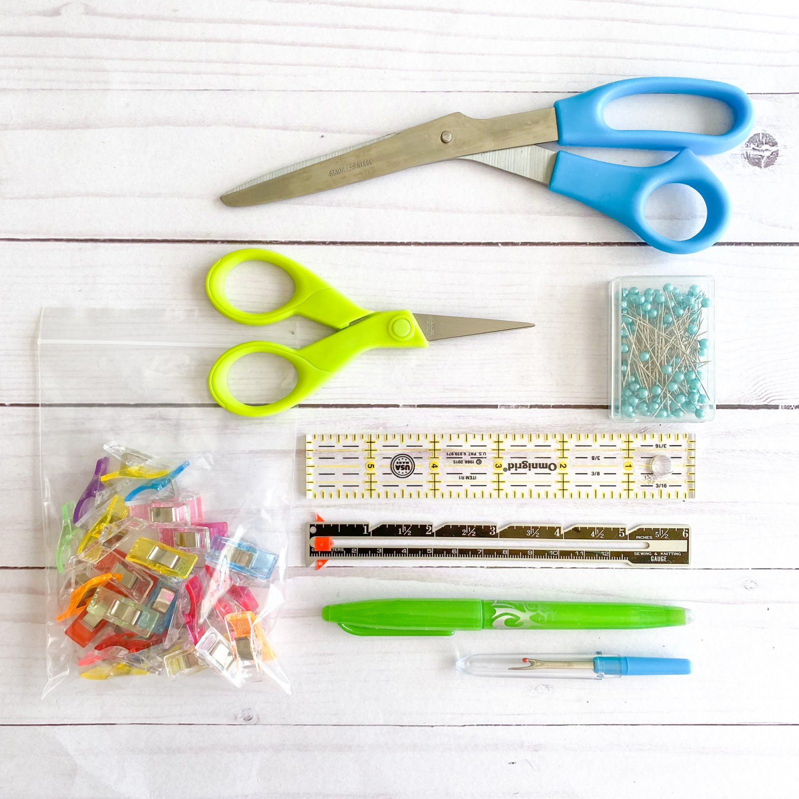 Kids' Sewing Tool Kit - Tools Only