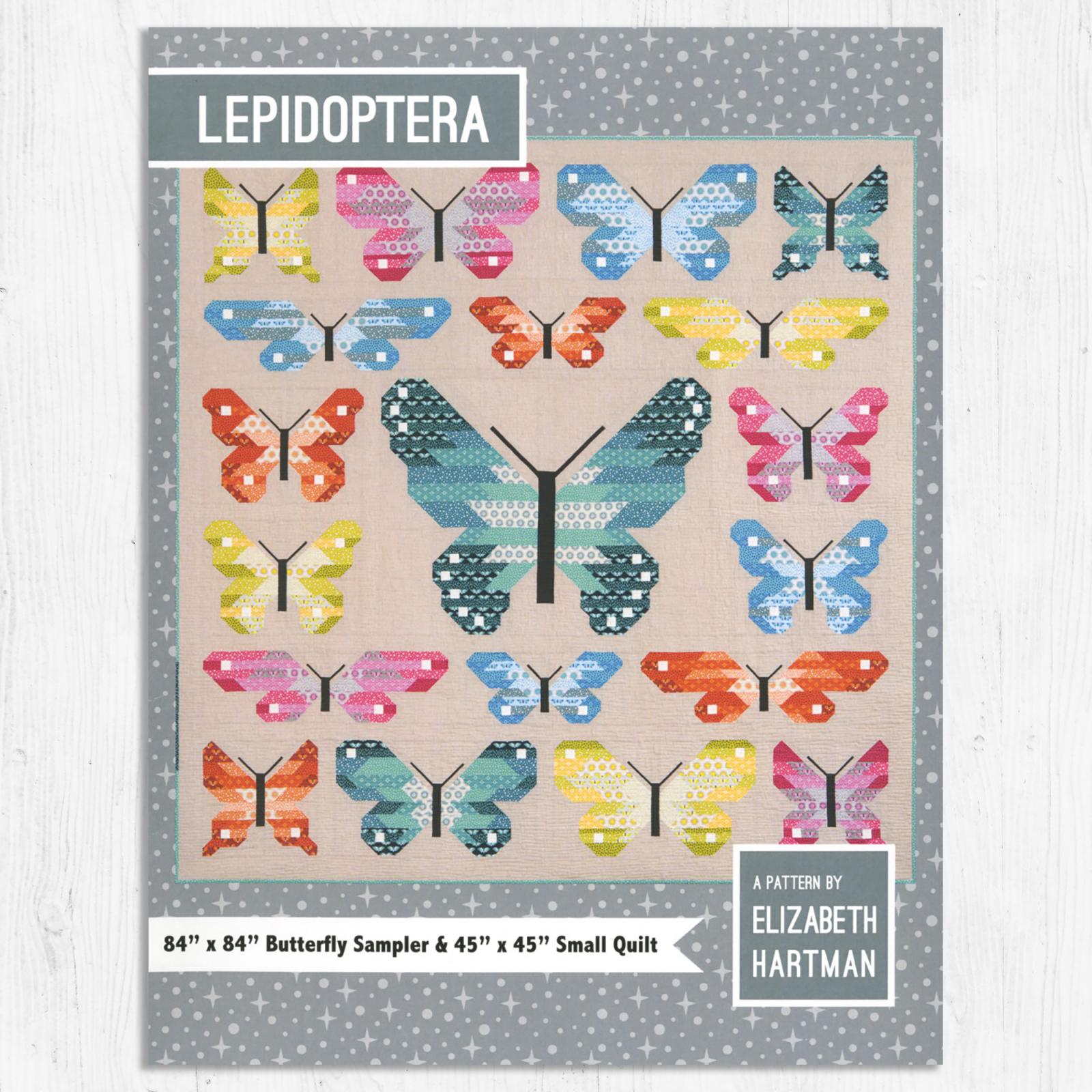 Elizabeth Hartman - Lepidoptera - Quilt Pattern