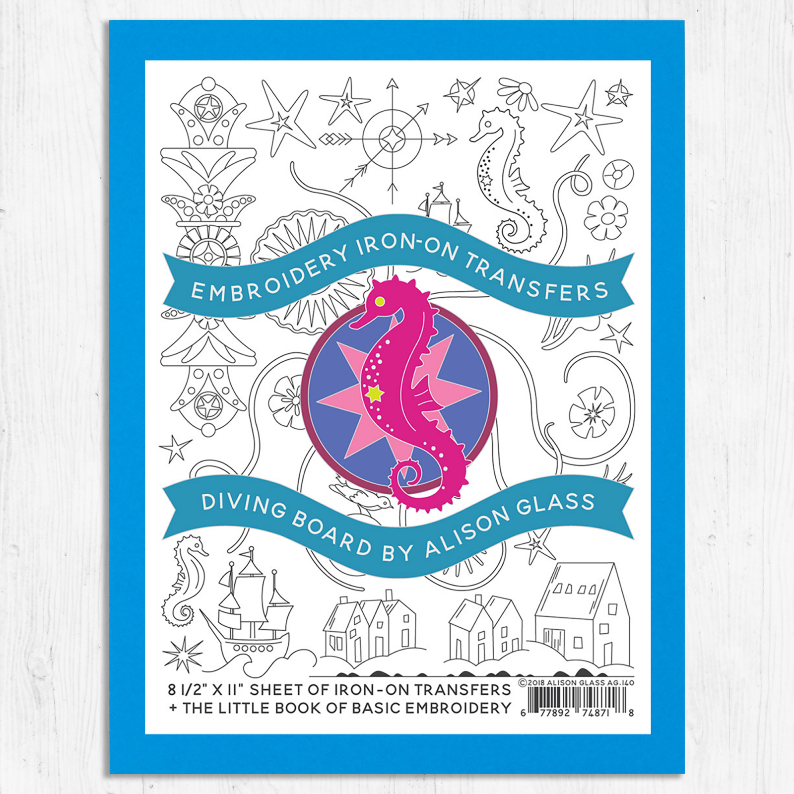 Embroidery Iron-On Transfers Diving Board