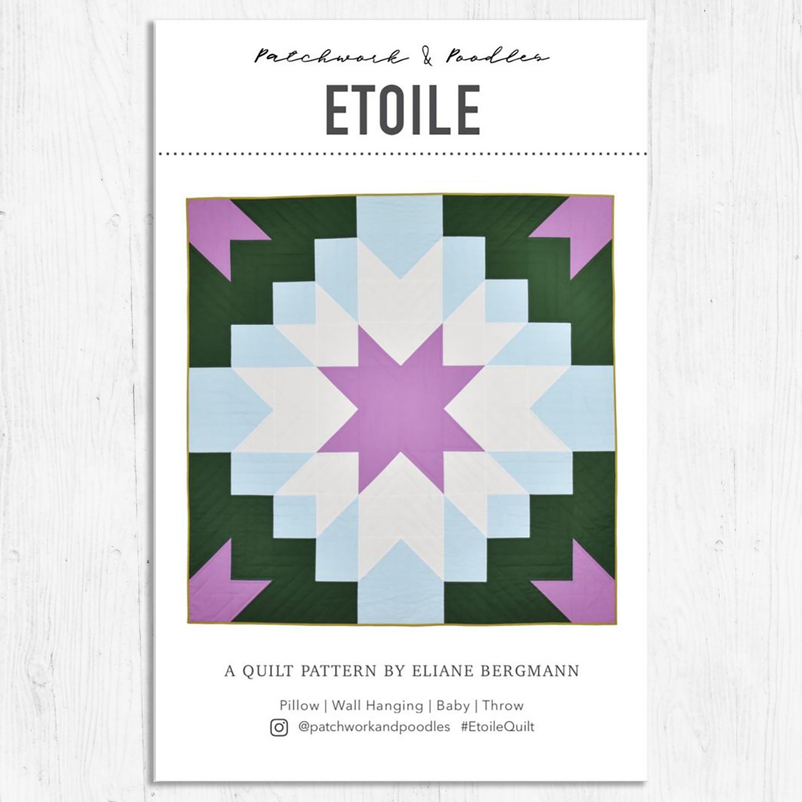 Patchwork & Poodles - Etoile Quilt