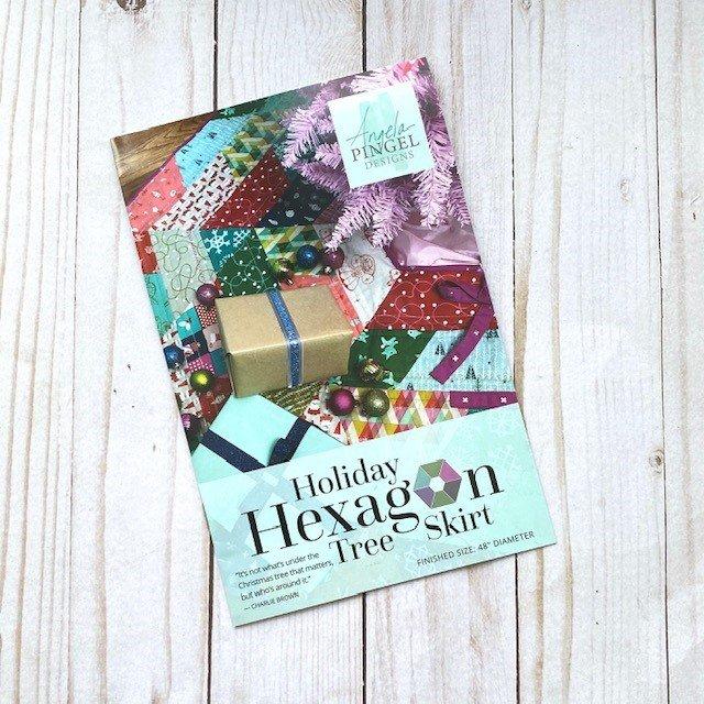 Holiday Hexagon Tree Skirt Pattern