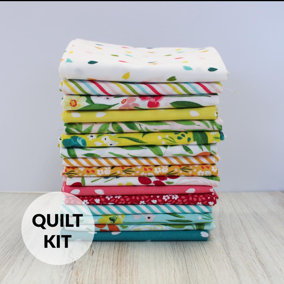 Quilt Kit - Homespun Small Throw