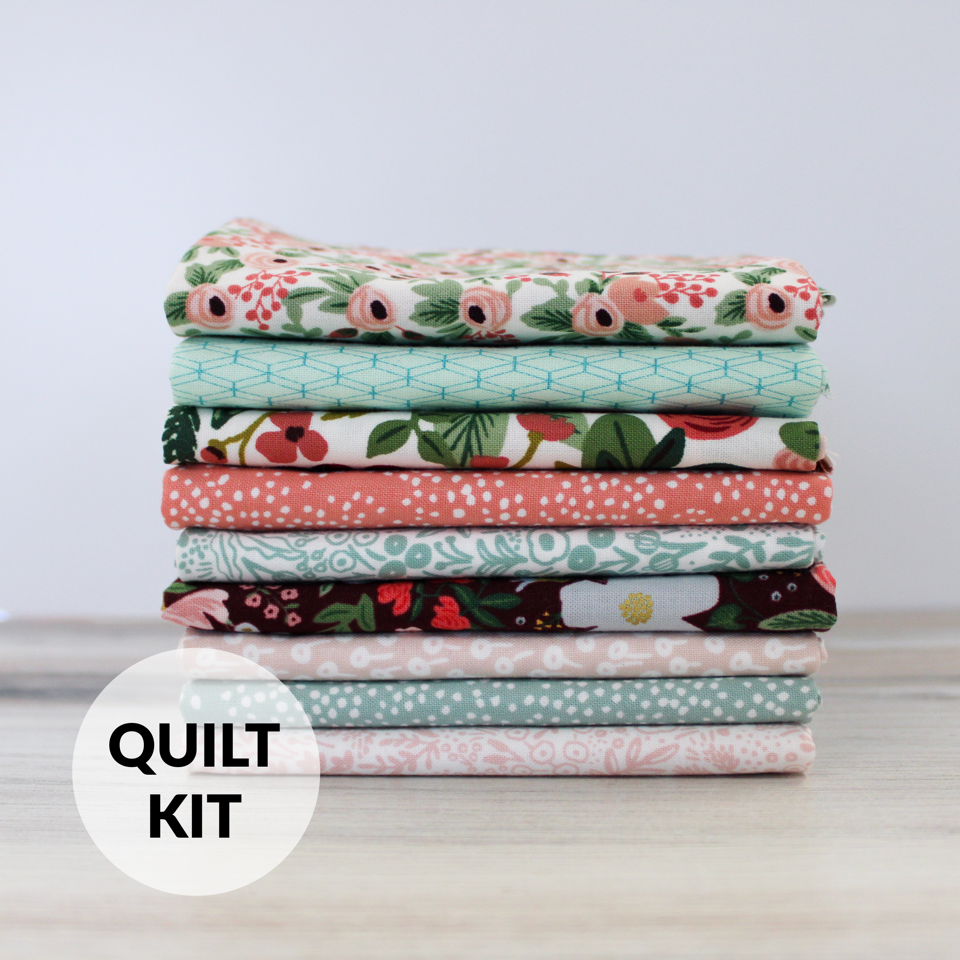 Quilt Kit - Homespun Baby Quilt