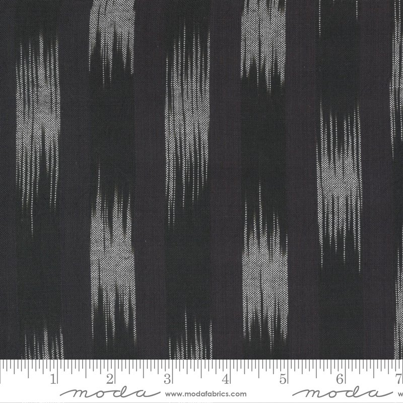 Low Volume Wovens - Ikat Charcoal