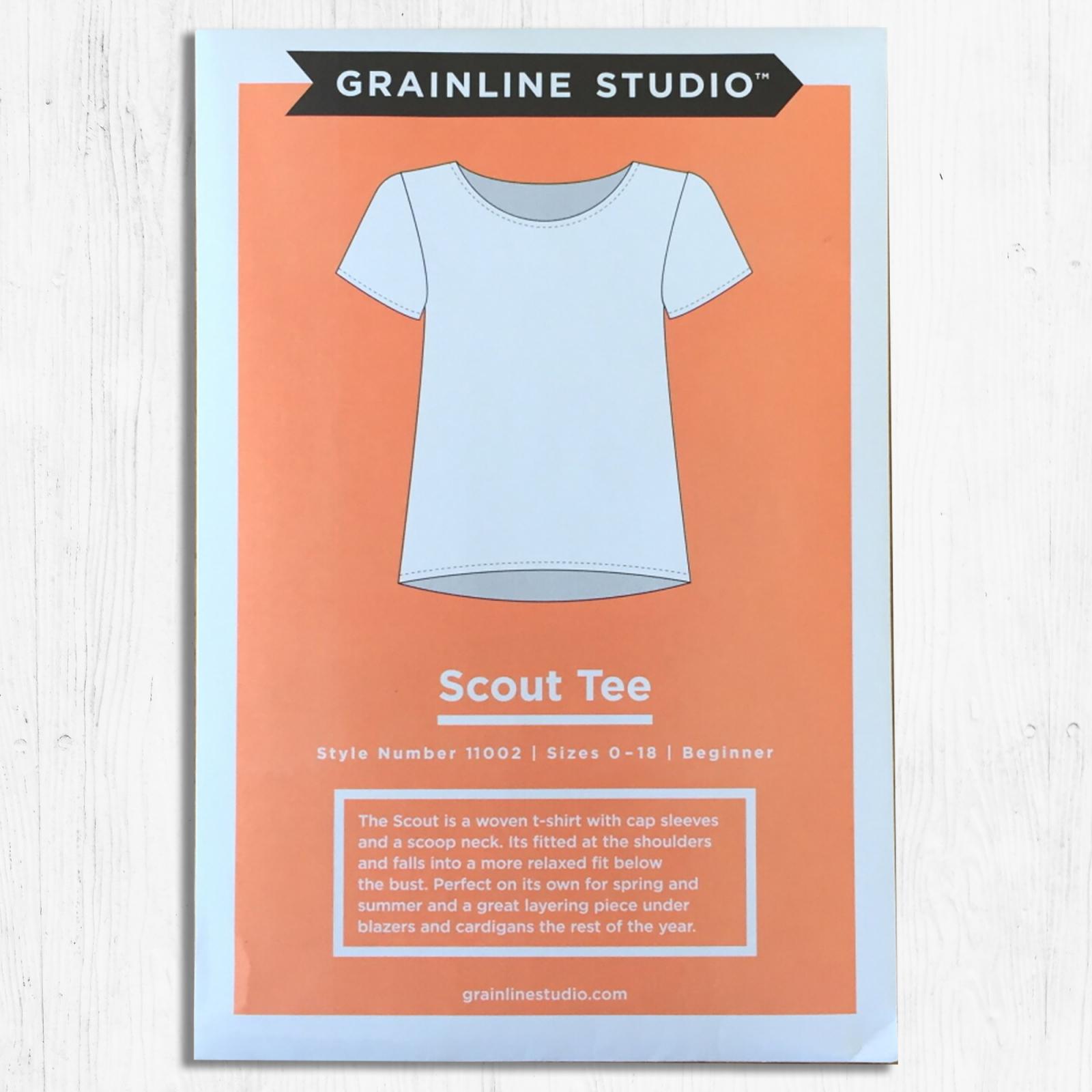 Grainline Studios - Scout Tee - Sizes 14-30