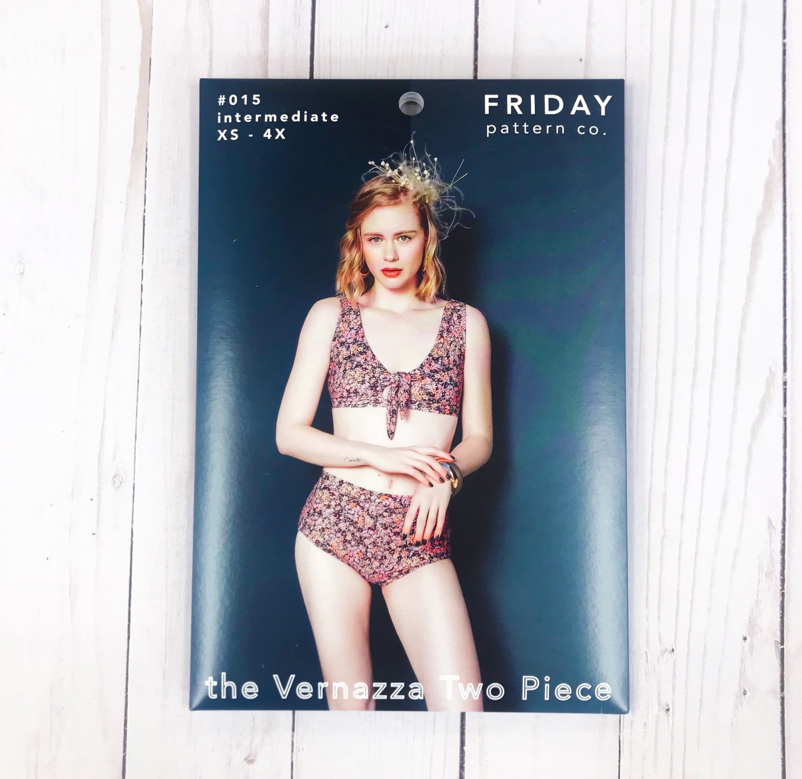 Friday Pattern Co. - The Vernazza Two Piece