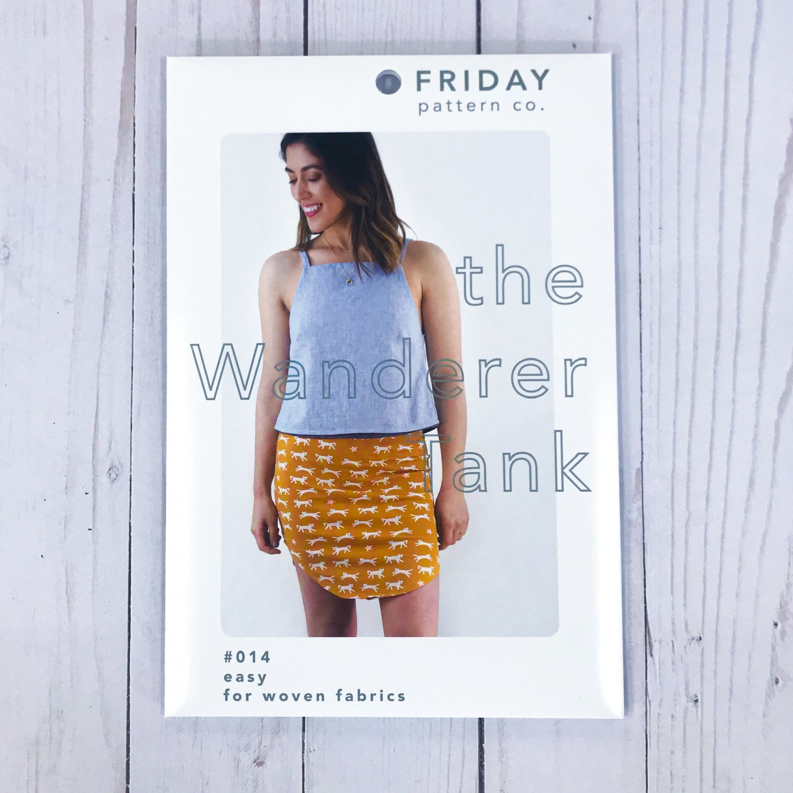 Friday Pattern Co. - The Wanderer Tank