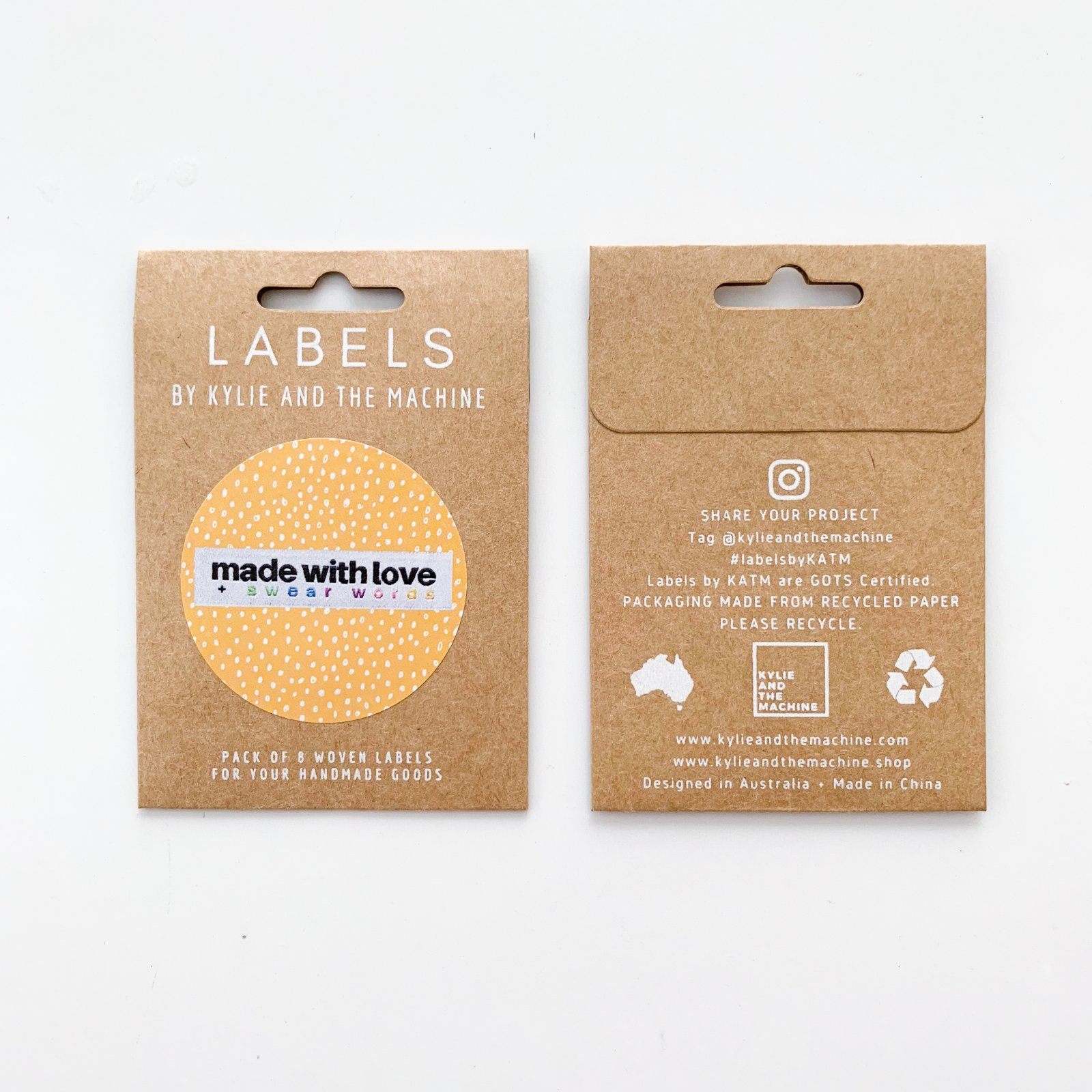Garment Labels - Made With Love
