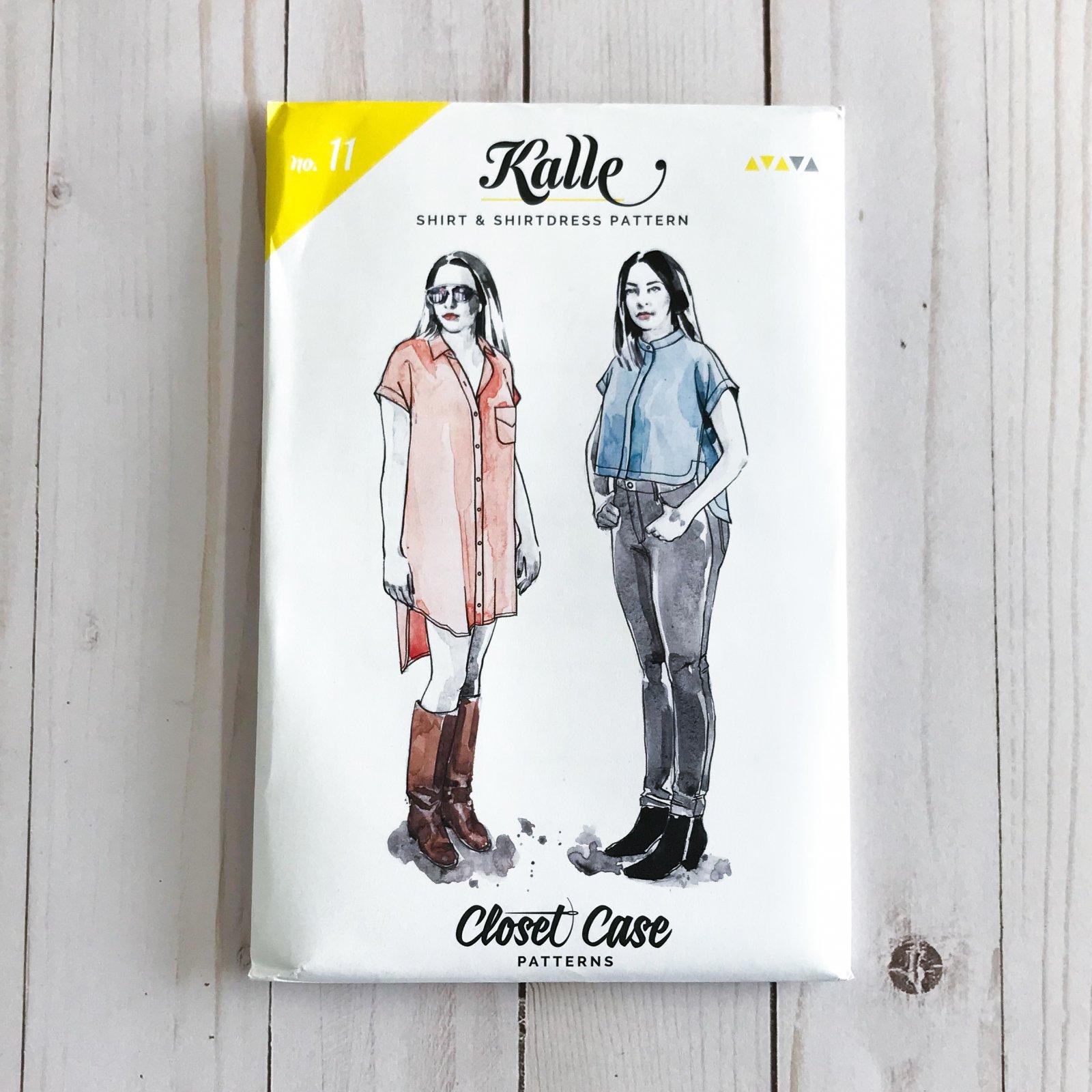 Closet Case Patterns - Kalle Shirt & Shirtdress