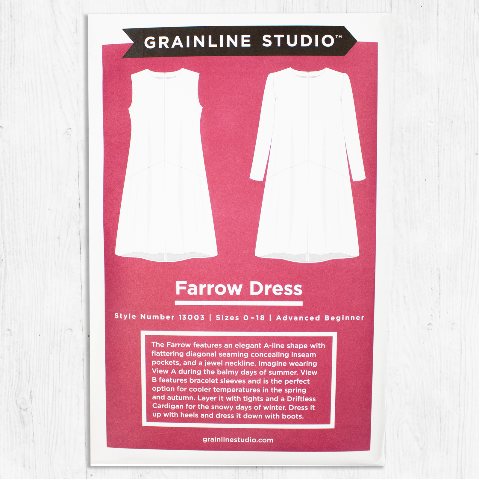 Grainline Studios - Farrow Dress