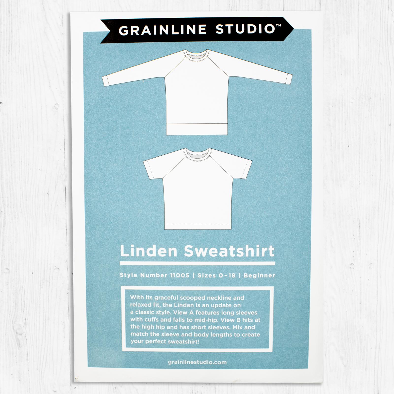 Grainline Studios - Linden Sweatshirt