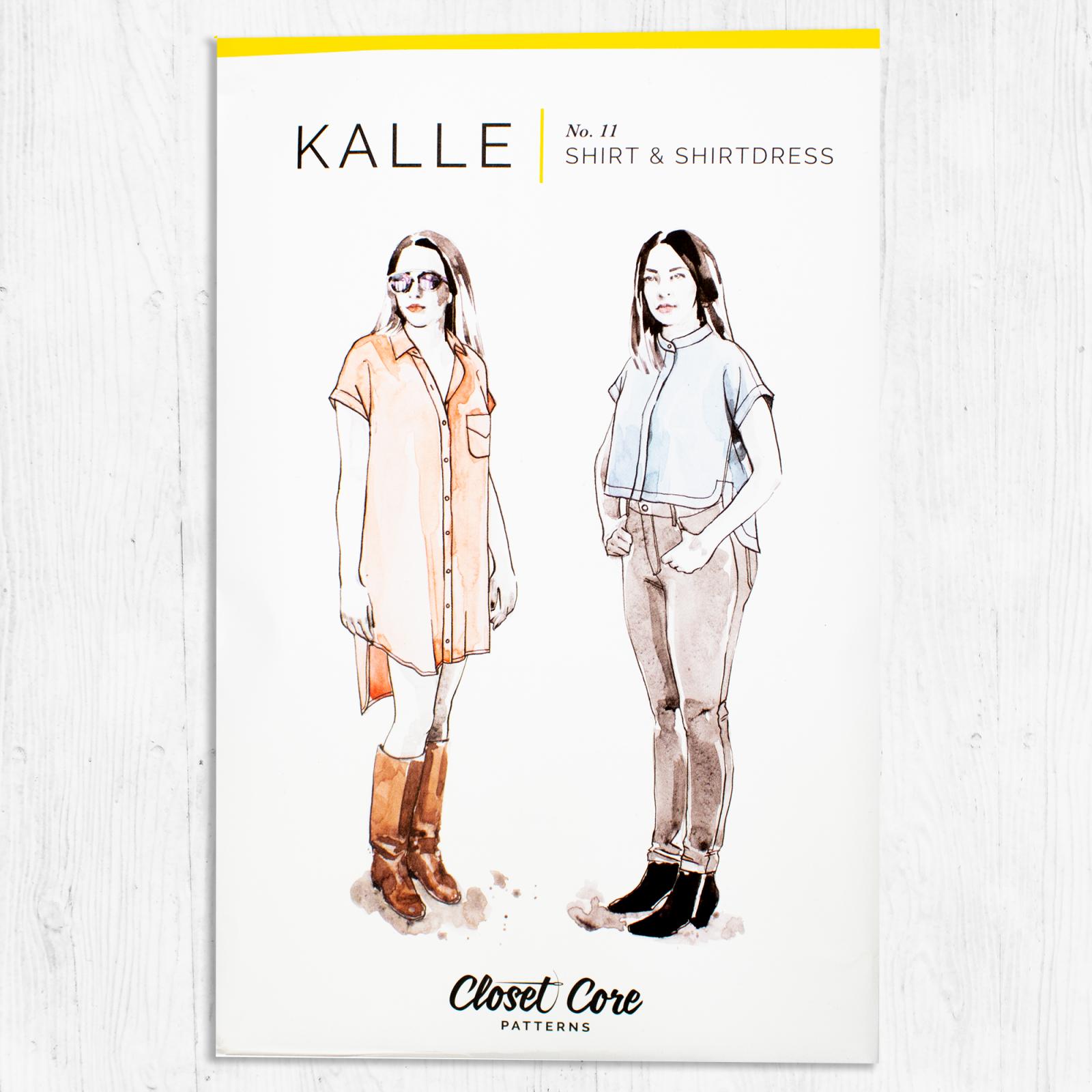 Closet Core Patterns - Kalle Shirt & Shirtdress